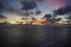 O céu colore II fotografia de stock