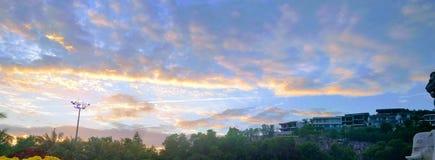 O céu colorido Foto de Stock Royalty Free