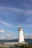 O céu, a costa e o farol de Bule em shenzhen Fotos de Stock