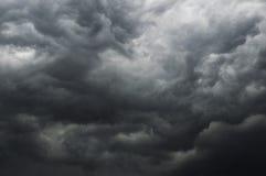 O céu da tempestade Fotografia de Stock