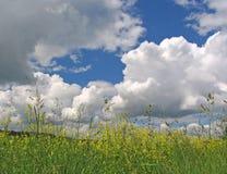 O céu da tempestade Imagens de Stock