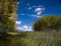 O céu de lhasa Fotografia de Stock Royalty Free