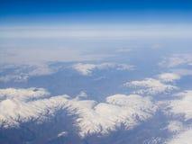 O céu de um ponto culminante Imagens de Stock Royalty Free