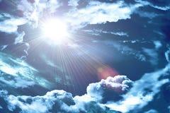 O céu divino imagem de stock