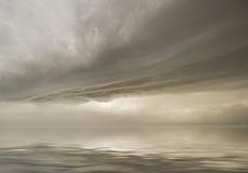 O céu dramático fotografia de stock