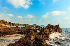O céu e o mar Fotografia de Stock Royalty Free