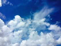 O céu e poderia Fotografia de Stock