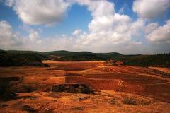 O céu e a terra Foto de Stock
