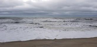 O céu encontra o mar imagens de stock royalty free