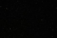 O céu nocturno Stars o fundo Fotografia de Stock