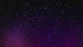 O céu nocturno Stars o fundo Foto de Stock