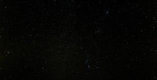 O céu nocturno Stars o fundo Fotos de Stock