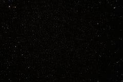 O céu noturno real de Narural Stars o fundo Imagem de Stock