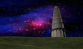 O céu noturno stars a cena Foto de Stock Royalty Free