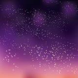 O céu noturno stars a ilustração do vetor do conceito para o fundo ilustração royalty free