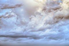 O céu nubla-se o fundo do nascer do sol da arte Imagem de Stock Royalty Free