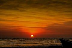 O céu pintado Foto de Stock Royalty Free