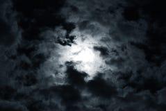 O céu preto imagens de stock