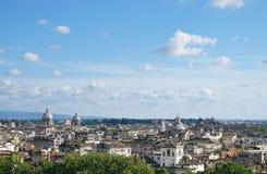 O céu sobre Roma Foto de Stock
