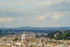 O céu sobre Roma Imagem de Stock