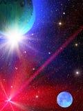 O céu stars a constelação Fotografia de Stock
