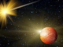 O céu stars a constelação Imagens de Stock