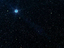 O céu stars planetas Foto de Stock Royalty Free