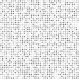 O círculo pequeno do brilho sparkles teste padrão sem emenda cinzento ilustração royalty free