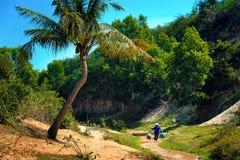 O córrego feericamente Mui Ne vietnam Foto de Stock Royalty Free