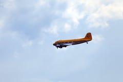 O C-47 Skytrain ou Dakota de Douglas Foto de Stock Royalty Free