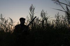 O caçador Imagens de Stock