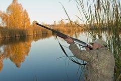 O caçador Imagem de Stock