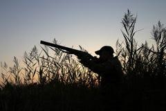 O caçador Fotografia de Stock
