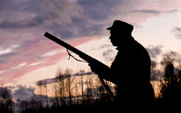 O caçador Foto de Stock