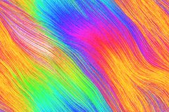 O cabelo de fluxo gosta da imagem de fundo Imagens de Stock Royalty Free