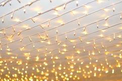 O cabo conduziu a luz Imagem de Stock