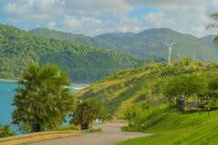 o cabo do promthep é a atração famosa para o por do sol em phuket Imagens de Stock Royalty Free