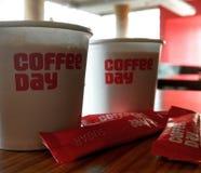 O café é amor Imagens de Stock Royalty Free