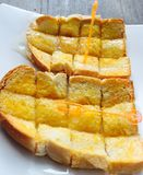 O café da manhã energiza nosso dia maravilhoso Imagem de Stock