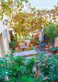 O café do outdoot Fotografia de Stock Royalty Free