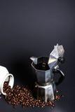 O café está pronto Foto de Stock Royalty Free
