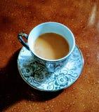O café não é a resposta a tudo assim chá Fotografia de Stock Royalty Free