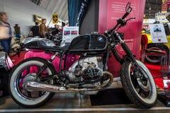 O café Piloto de BMW R100 da motocicleta, 1991 Imagem de Stock