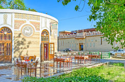 O café velho da cidade Imagem de Stock Royalty Free
