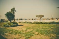 O Cairo, Egito, o 25 de fevereiro de 2017: vista na citadela do Cairo Imagens de Stock Royalty Free