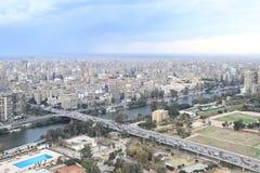 O Cairo ocidental fotografia de stock