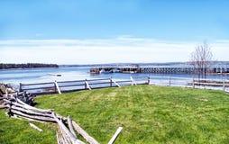 O cais da pesca em St Anderws Imagens de Stock