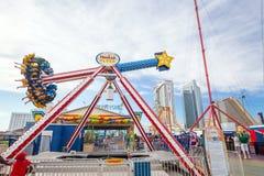 O cais de aço famoso em Atlantic City Imagens de Stock Royalty Free