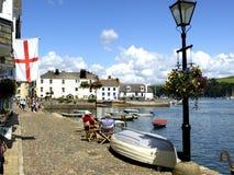 O cais de Bayard, Dartmouth, Devon. Fotos de Stock