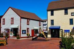 O cais de Bowen, Newport, Rhode - ilha Fotografia de Stock
